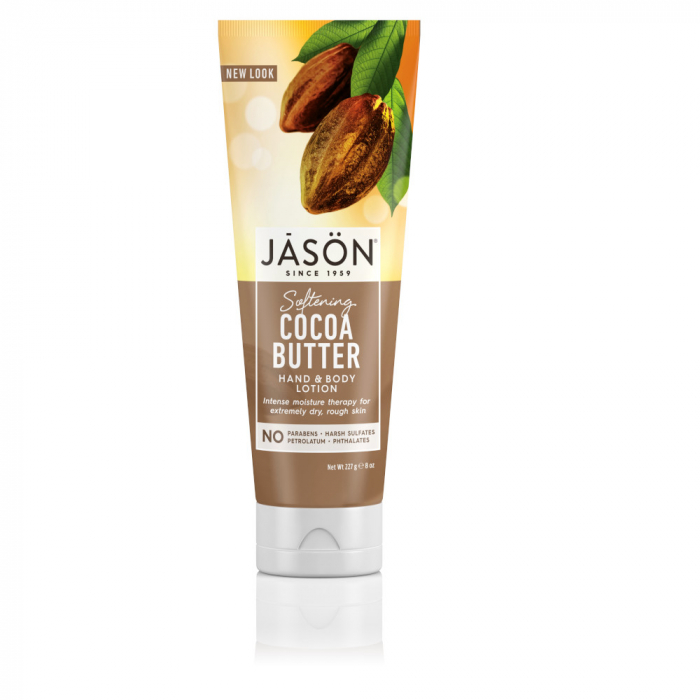 Lotiune hidratanta cu unt de cacao pt maini si corp, 227g, Jason [0]