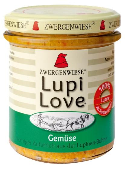 Lupi Love crema tartinabila cu lupin si legume FARA GLUTEN 165 g 0