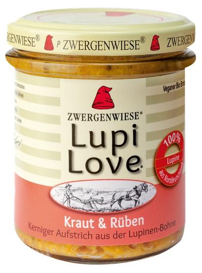Lupi Love crema tartinabila din lupin cu varza si sfecla 165g 0