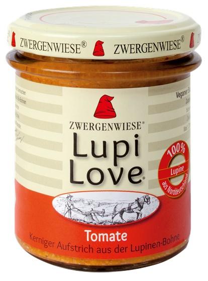 Lupi Love crema tartinabila din lupin si tomate FARA GLUTEN 165 g 0