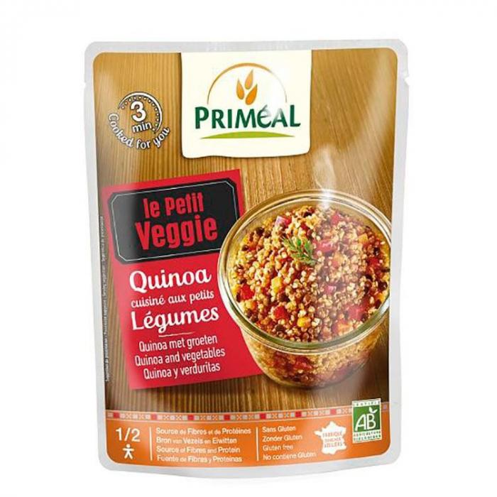 Meniu gata preparat - Quinoa cu legume 220g [0]