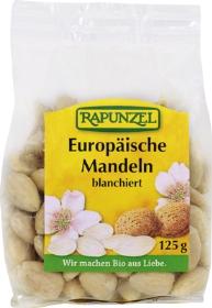 Migdale europene blansate  125 g 0