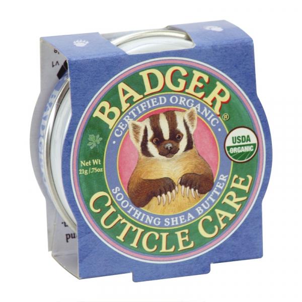 Mini balsam pentru cuticule si unghii, Cuticle Care Badger, 21 g 0