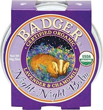Mini balsam pt un somn linistit, Night-Night Baby Badger, pt copii, 21 g [0]