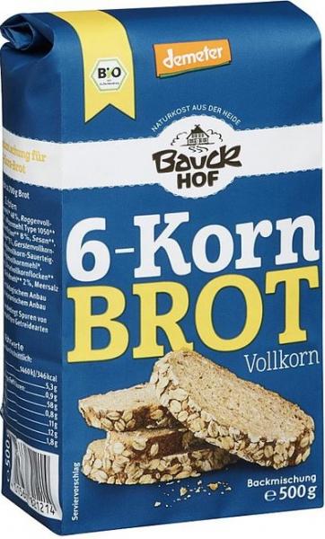 Mix de faina pentru paine integrala cu 6 cereale 500g 0