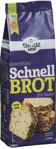 Mix de faina pentru paine rapida cu seminte FARA GLUTEN 500 g [0]