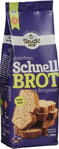 Mix de paine rapida cu condimente FARA GLUTEN 500g [0]