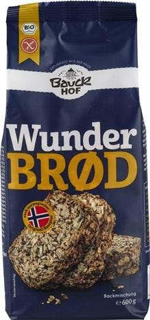 Mix pentru paine integrala cu seminte FARA GLUTEN 600 g [0]
