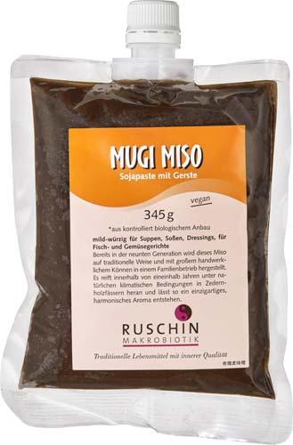 Mugi Miso cu soia si orz bio 345g 0
