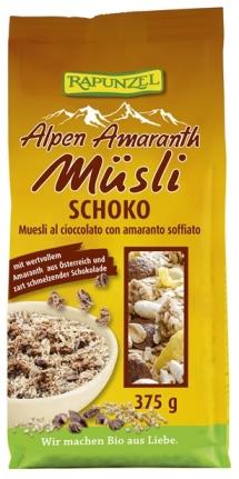 Musli cu amarant si ciocolata 375 g 0