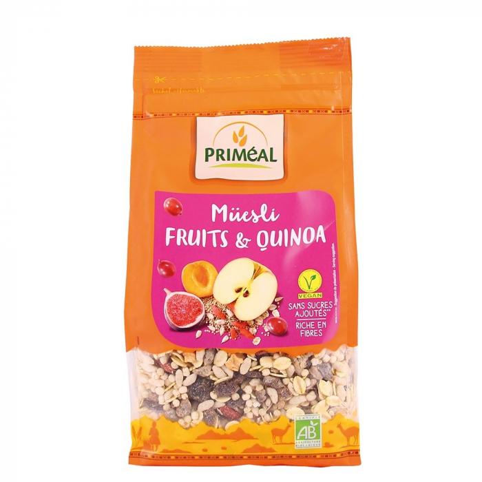 Musli cu quinoa si fructe 350g 0