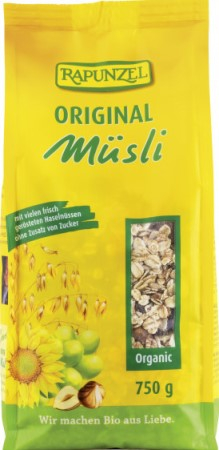 Musli Bio Original RAPUNZEL 750g 0