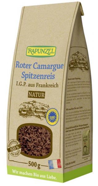 Orez rosu bio Camargue natur 500g 0