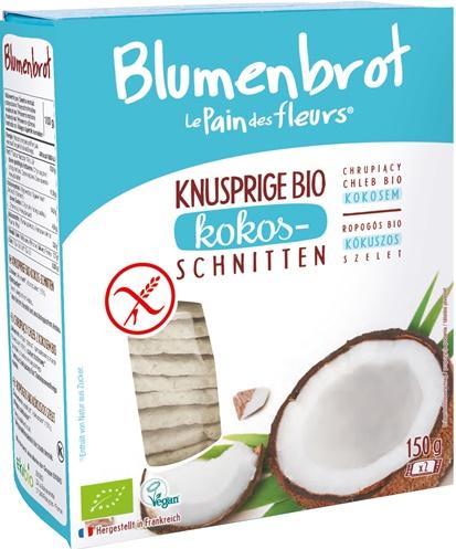 Paine crocanta cu cocos FARA GLUTEN 150 g 0