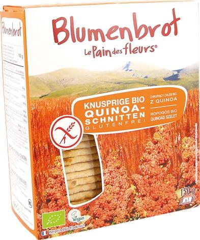 Paine bio cu quinoa FARA GLUTEN 150g 0