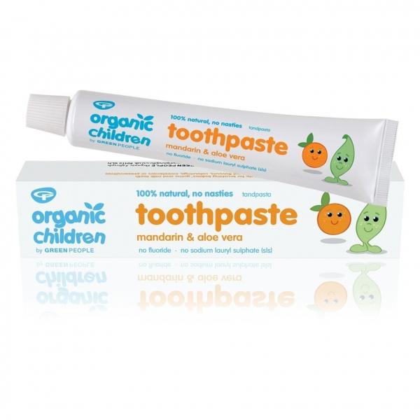Pasta de dinti cu mandarine pt. bebelusi, homeopata, Green People 0