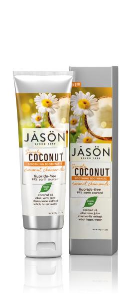Pasta de dinti sensibili, cu cocos si musetel, 119 g, Jason [0]