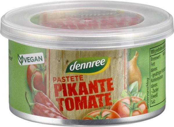 Pate bio picant cu tomate 125g [0]