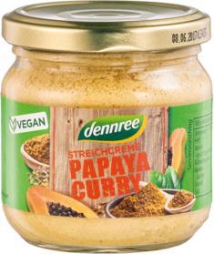 Pate vegetal dennree cu papaya si curry 180g 0