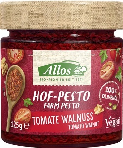 Pesto cu tomate si nuci 125 g 0