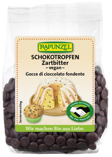 Picaturi ciocolata delicat amaruie  100 g 0