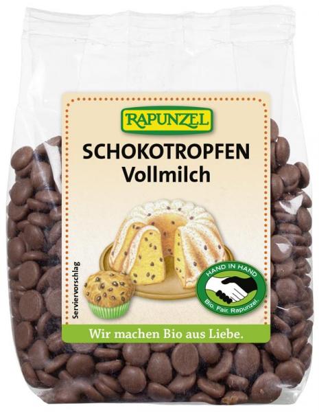 Picaturi ciocolata din lapte integral  100 g 0