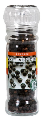 Piper negru in rasnita de sticla 45 g [0]
