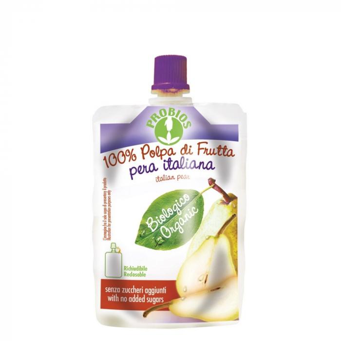 Piure de fructe fara zahar - pere 100g [0]