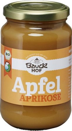 Piure de mere si caise FARA ZAHAR 360 g 0