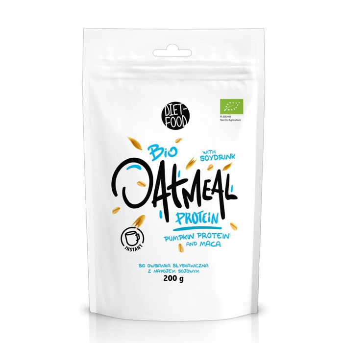 Porridge instant din ovaz cu proteine 200g [0]
