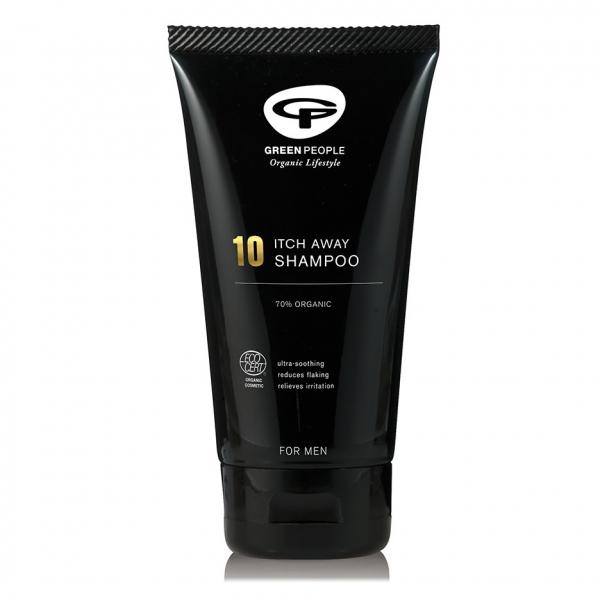 Sampon Itch Away anti-matreata, pt. scalp iritat, pt barbati, Green People [0]