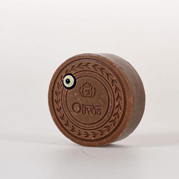 Sapun Amuleta norocoasa - Ochiul Magic - cu vanilie si ulei de masline, efect anti-imbatranire, Olivos, 100 g 0