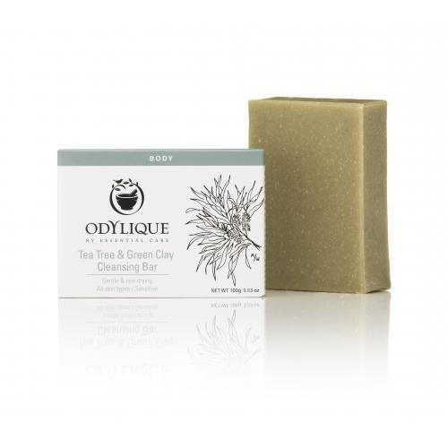 Sapun cu tea tree si argila verde, anti bacterian, Odylique by Essential Care [0]