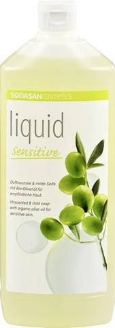 Sapun lichid pentru ingrijire naturala Sensitiv REZERVA REUMPLERE 1 l 0