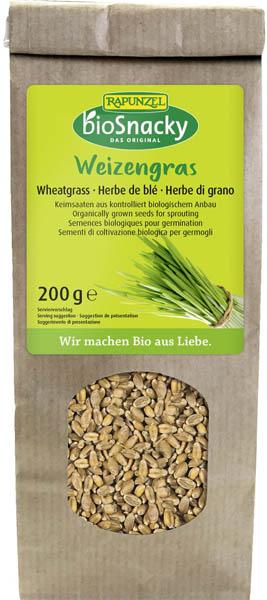 Seminte de iarba de grau bio pentru germinat  200g [0]