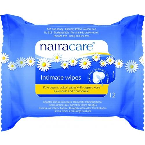 Servetele umede pentru igiena intima, Natracare [0]