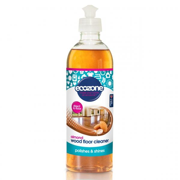 Solutie cu migdale, pentru curatat podelele din lemn, Ecozone, 500 ml [0]