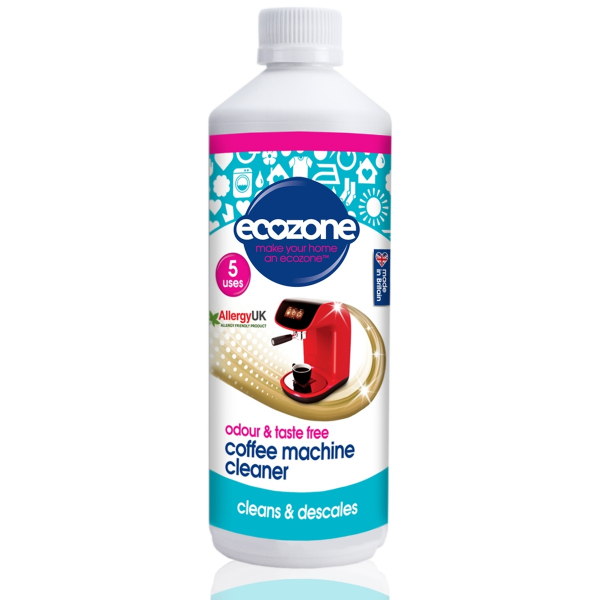 Solutie detartranta pentru curatarea cafetierelor, Ecozone, 500 ml 0