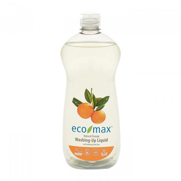 Solutie spalat vase, cu portocale si aloe vera, Ecomax 740 ml 0