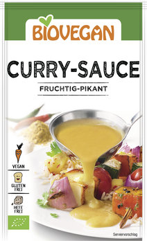 Sos Curry vegan FARA GLUTEN 29 g 0