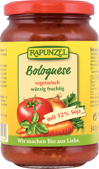 Sos de tomate Bolognese vegan 340 g 0