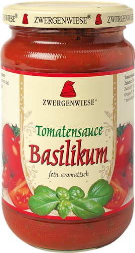 Sos de tomate cu busuioc FARA GLUTEN 340 ml [0]