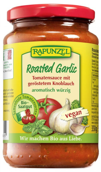 Sos de tomate cu usturoi prajit VEGAN  350 g [0]