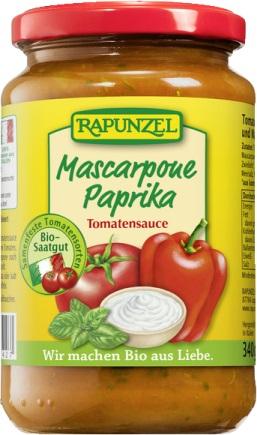 Sos de tomate Mascarpone si ardei 330 ml 0