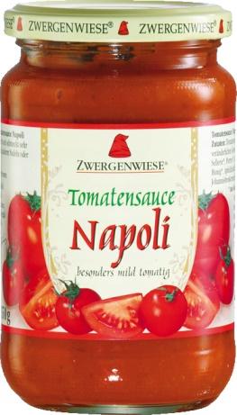 Sos bio de tomate ecologice Napoli 340ml 0