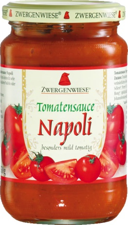 Sos de tomate Napoli FARA GLUTEN 340 ml 0