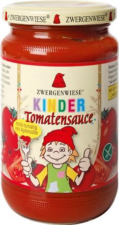 Sos de tomate pentru copii cu indulcitor din mar 340ml 0