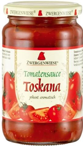 Sos bio de tomate Toskana picant  340ml [0]