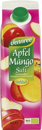 Suc de mere cu mango 1 l 0