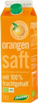 Suc de portocale din concentrat bio 1l 0